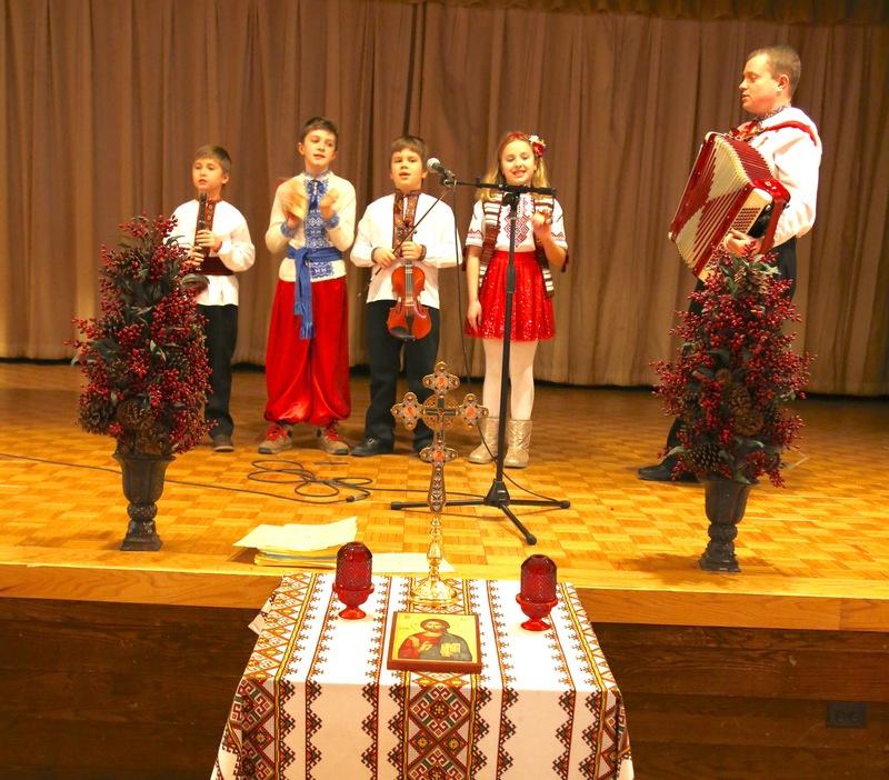 Святий вечір на парафії св.Володимира і Ольги