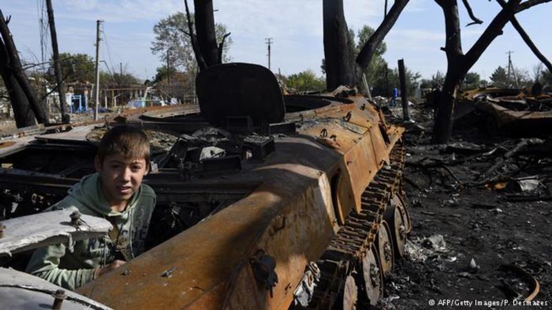 Діти Донбасу дедалі більше потерпають від війни