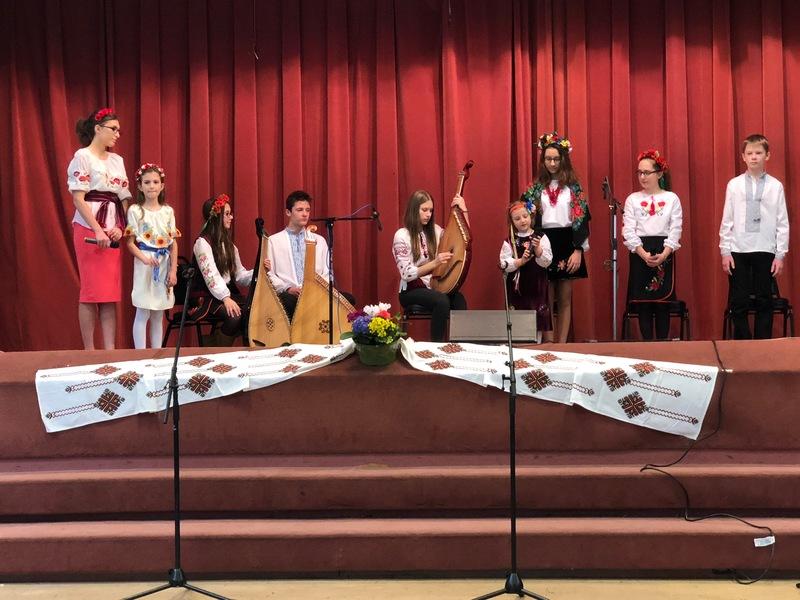 Шевченківські народини святкують діти Чикаґо