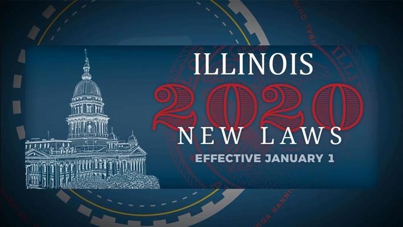 Нові закони Іллінойсу в 2020 році