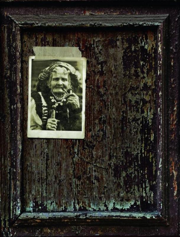 Фото гуцулки, яке здобуло гран-прі на виставці в Парижі
