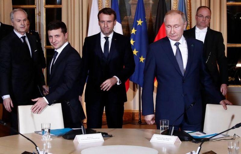 Зустріч Зеленського й Путіна. Про що домовилися