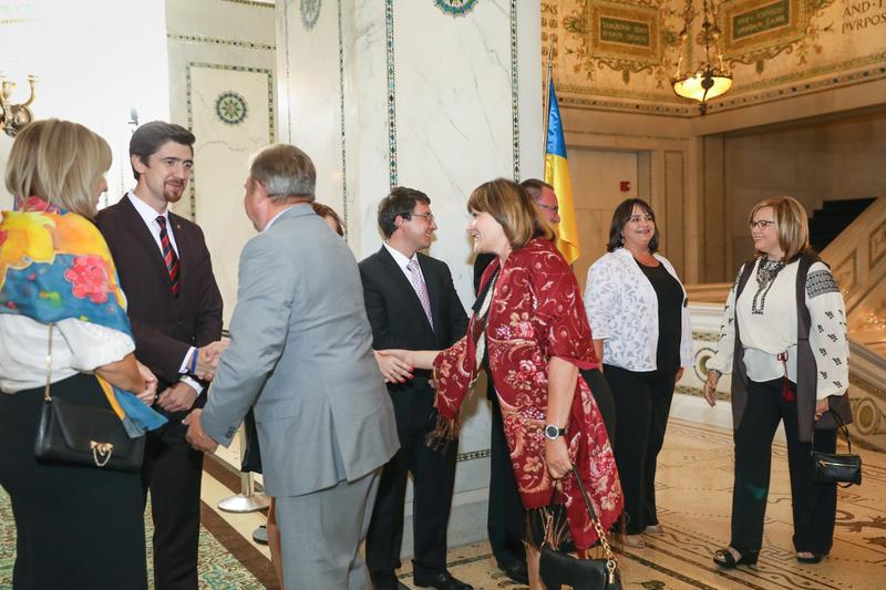 У Чикаго відбулося прийняття, організоване українськими дипломатами