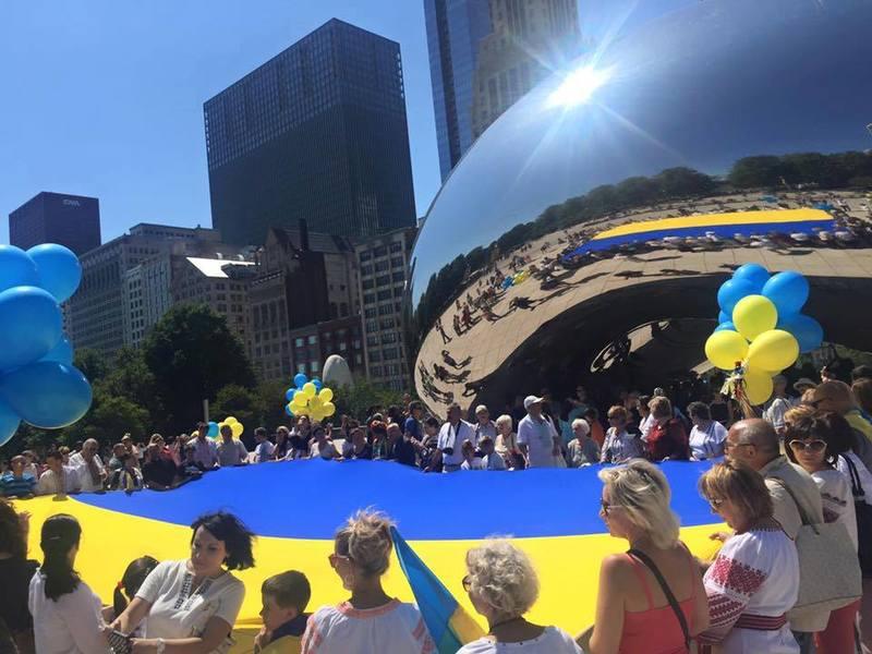 У центрі Чикаго замайорить український прапор та пролунає гімн