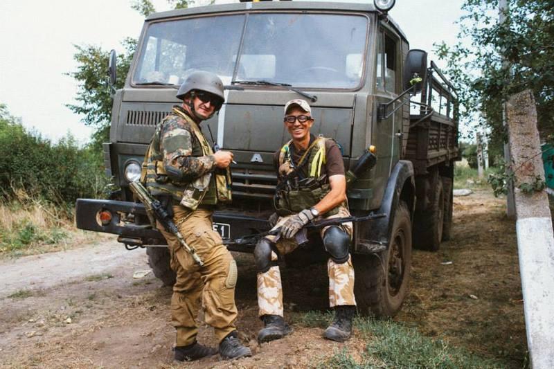 Нові фото американця українського походження, який поліг на Донбасі