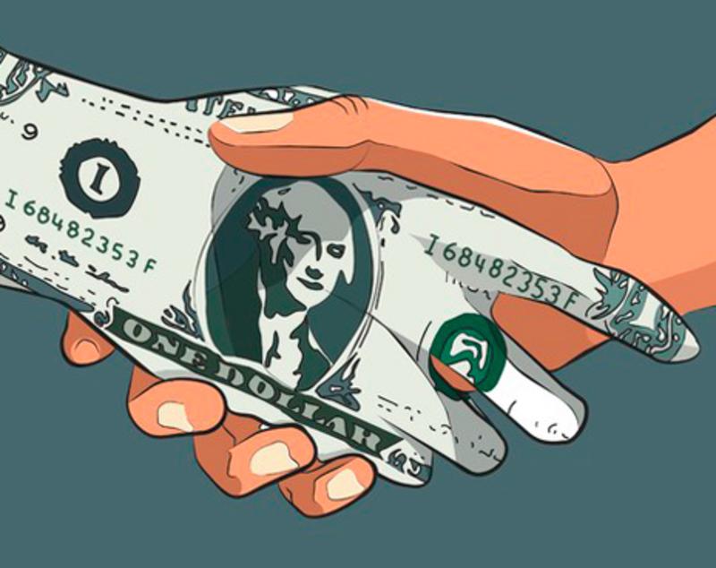 Найбільш корумпована країна світу в доларовому еквіваленті - США