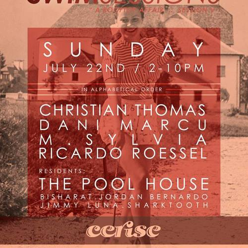 Swim Sessions VI at Cerise Rooftop Chicago