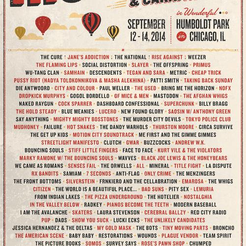Riot Fest Chicago 2014