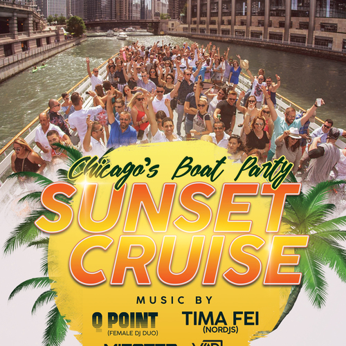 Chicago's Boat Party (SUNSET CRUISE) Sunday, June 17th