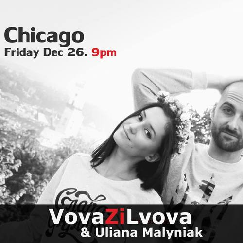Ukrainian New Year/Christmas Party w/Vova Zi Lvova & Uliana Malyniak in Chicago