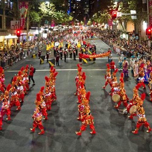 Святкування Китайського Нового року у Чикаго