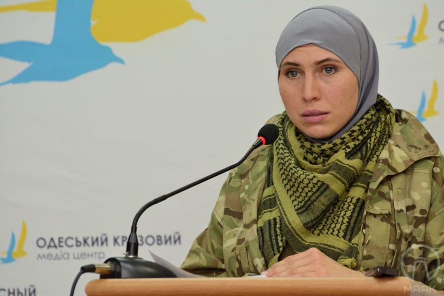 Нардеп: щойно загинула Аміна Окуєва