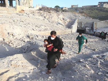Росіяни за 12 годин обстріляли 4 цивільні госпіталі у Сирії