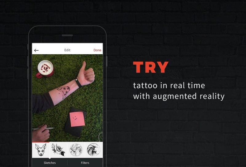 Український тату-застосунок inkHunter потрапив урейтинг Best of2017 від Apple