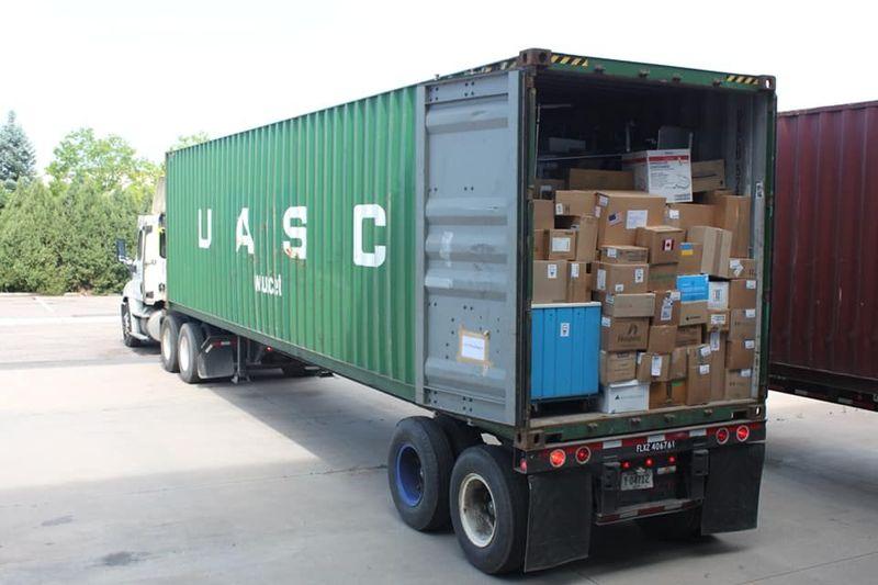 З Колорадо в Україну відправили вантаж з медобладнанням