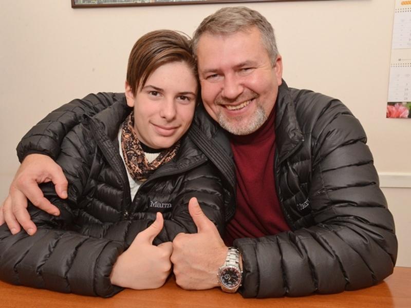 13-річний українець зустрівся з відомим чиказьким палеонтологом