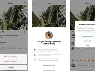 Instagram більше не дозволить писати образливі коментарі