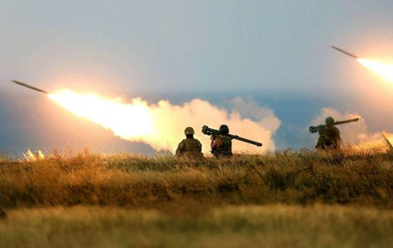 Бойовики пішли в наступ на Донбасі. Відео