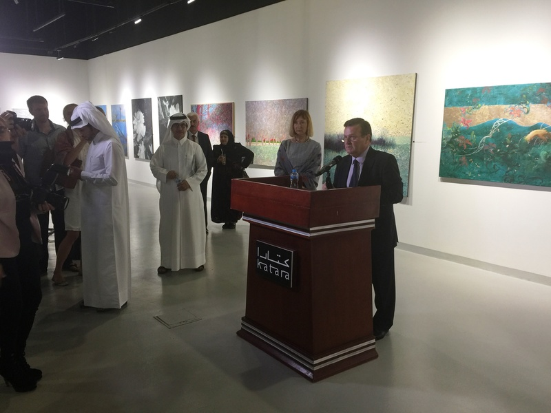 У Катарі показали картини українських художників