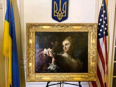 США повернули Україні картину Гудро, вкрадену нацистами у 1943 році