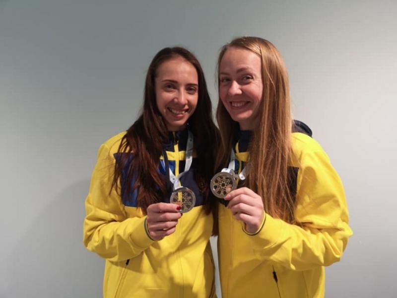 """Українки здобули """"срібло"""" на етапі Кубка світу зі стрибків на батуті"""