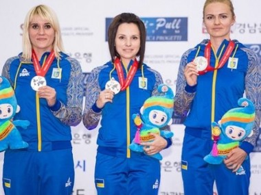 Жіноча українська збірна завоювала золоту медаль ЧЄ зі стрільби