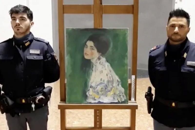 Викрадену 23 роки тому картину Ґустава Клімта знайшли у сміттєвому пакеті