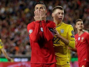 В мережі оприлюднили епічні фото з матчу Україна-Португалія