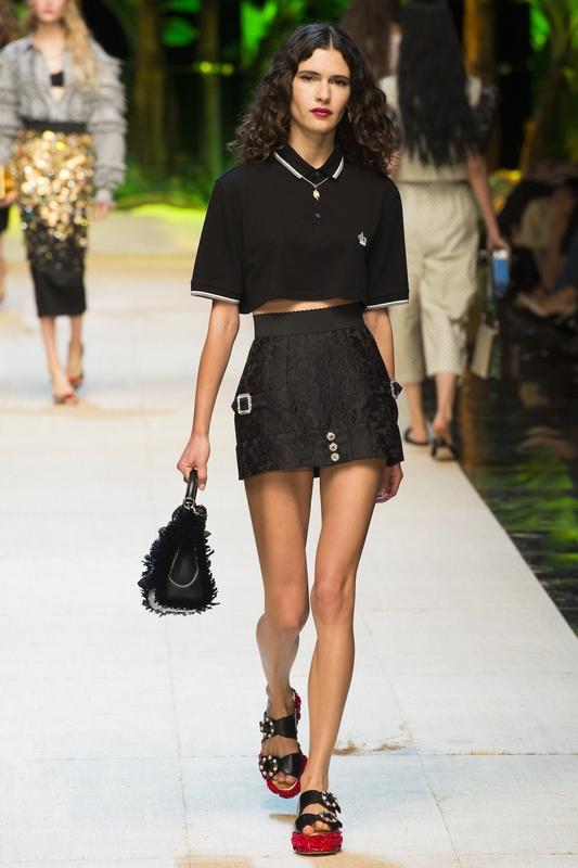 Українська модель взяла участь у показі Dolce & Gabbana