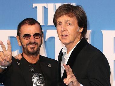 Ексучасники The Beatles Пол Маккартні та Рінго Стар виступили разом у Лос-Анджелесі