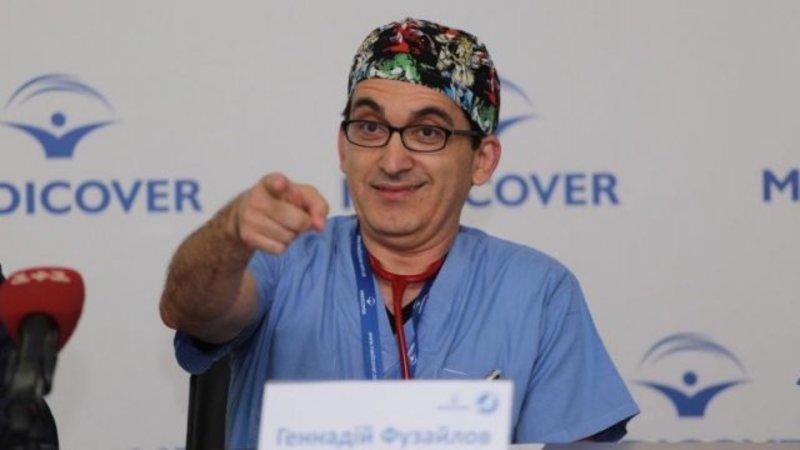 Лікар з Бостона подарував Україні «штучної шкіри» на $1,6 млн