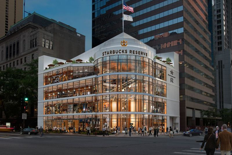 Найбільший у світі Starbucks відкриється в Чикаго