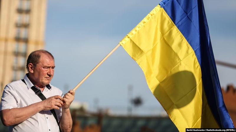 У Новосибірську влаштували пікет до Дня незалежності України