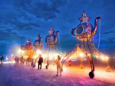 В пустелі Блек-Рок почався Burning Man 2019