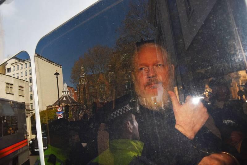 У Британії повідомили про рішення екстрадувати Ассанжа до США