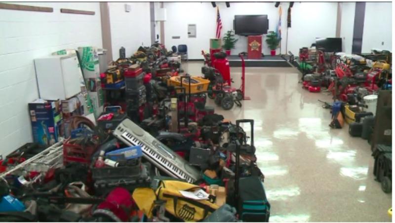 Викрадене обладнання, виявлене чиказькою поліцією, доступне для повернення