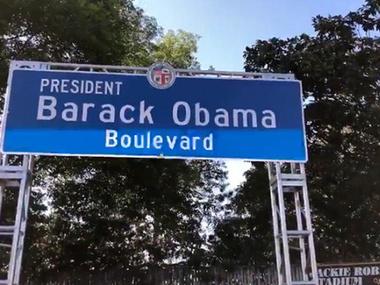 У Лос-Анджелесі з'явився бульвар імені Барака Обами