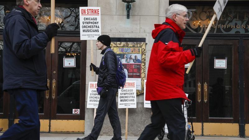 Чиказький симфонічний оркестр почав страйк