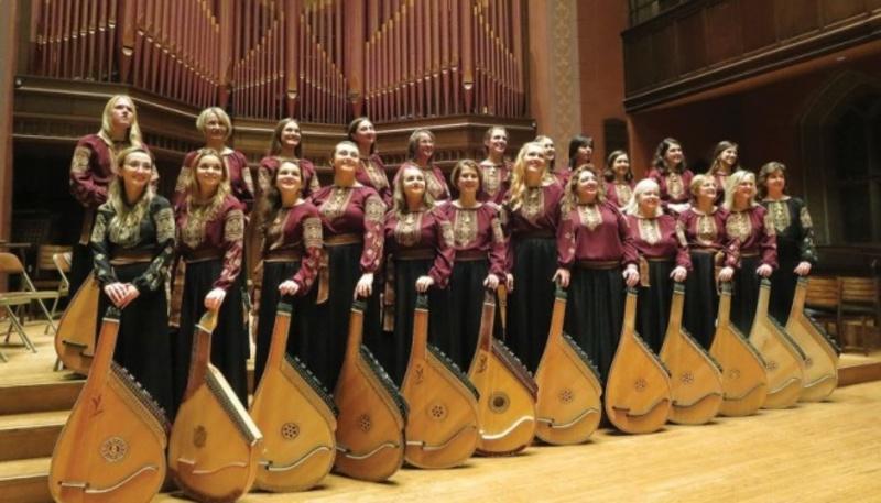 Ансамбль українських бандуристок з Північної Америки виступив на фестивалі у США