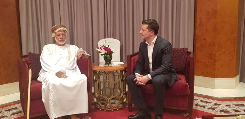 Поїздка Зеленського в Оман не була офіційною