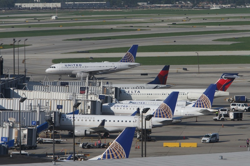 Чиказьку O'Hare визнали найбільш завантаженим аеропортом США