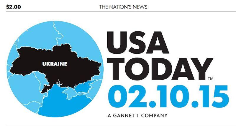 USA Today надрукувала нову карту України без ... однієї складової