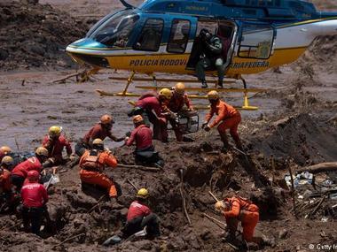 Прорив греблі у Бразилії: кількість жертв зросла до 84