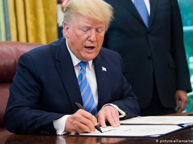 Трамп підписав указ про регулювання соцмереж