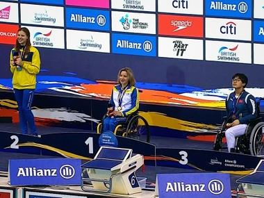 55 нагород і 18 ліцензій  привезли українські паралімпійці з чемпіонату світу з плавання