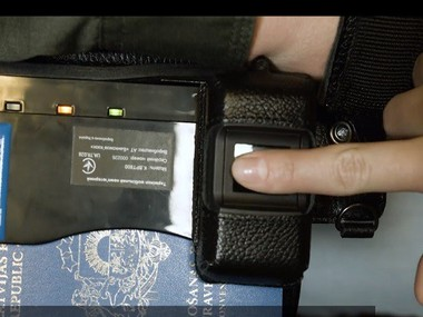 Ukraine completes works on biometric control system on EU border
