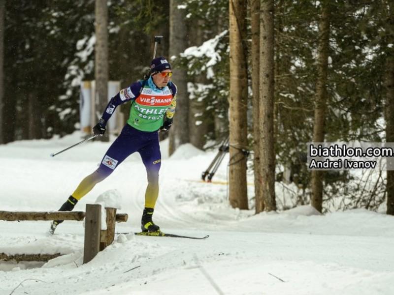 Збірна України потрапила у 5-ку найкращих стартової гонки ЧС з біатлону