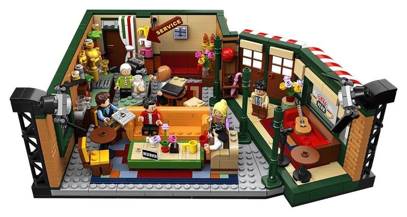 Lego випустить конструктор, присвячений серіалу «Друзі»