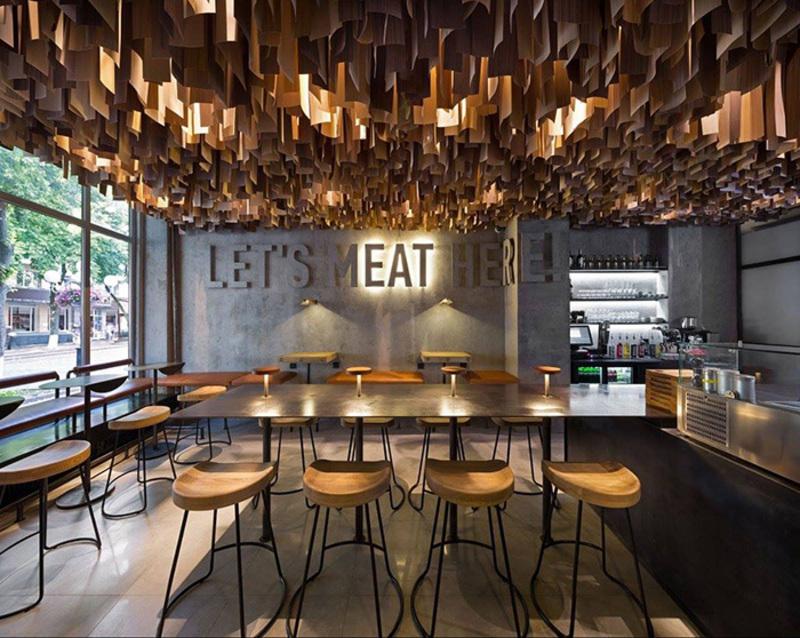 Poltava Burger Bar Named Europes Most Stylish At 2017 Design Awards In UK