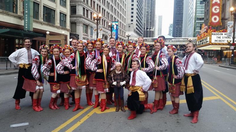 Український ансамбль взяв участь у параді до Дня подяки у Чикаго. Відео